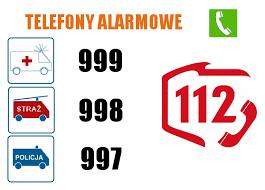 Urząd Dzielnicy Mokotów m.st. Warszawy Telefony alarmowe