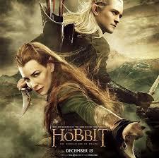 """Elfy na nowym plakacie drugiego """"Hobbita"""" - film.gildia.pl - film, newsy,  recenzje"""