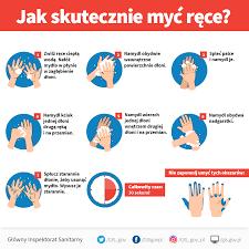 Znalezione obrazy dla zapytania: instrukcja mycia rąk koronawirus