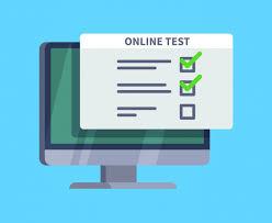 Znalezione obrazy dla zapytania: online test