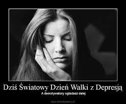 Znalezione obrazy dla zapytania: Miedzynarodowy dzień walki z depresją