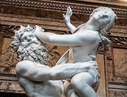 Porwanie Prozerpiny Gian Lorenzo Berniniego, czyli gwałt usankcjonowany -  Rzym dla początkujących i zaawansowanych, dociekliwych i odważnych