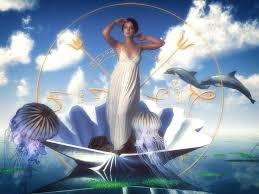 Amfitryta - bogini morza, żona Posejdona | Art, Concept design, Character  concept