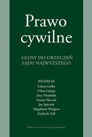Wydawnictwo Uniwersytetu Jagiellońskiego - Prawo cywilne