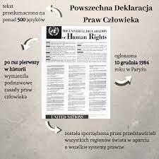 Powszechna Deklaracja Praw Człowieka : II Liceum Ogólnokształcące w Legnicy