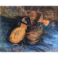 Vincent Van Gogh - Para butów - digiaqua