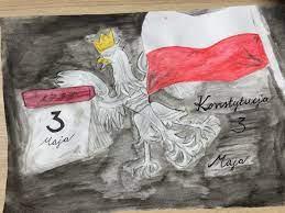 Galeria prac konkursowych z okazji uchwalenia Konstytucji 3 Maja - Galerie -